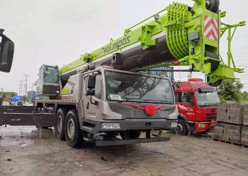 услуги автокрана 80 тонн